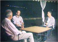 Fawzi Chekili et Geraldo di Lella à Tabarka