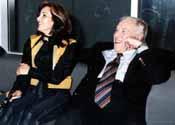 Nabiha Karaouli et Kamel Cherif